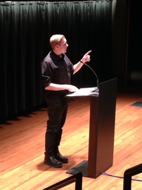 Timothy Otte reading at Northrop